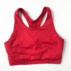Lululemon • red sports bra